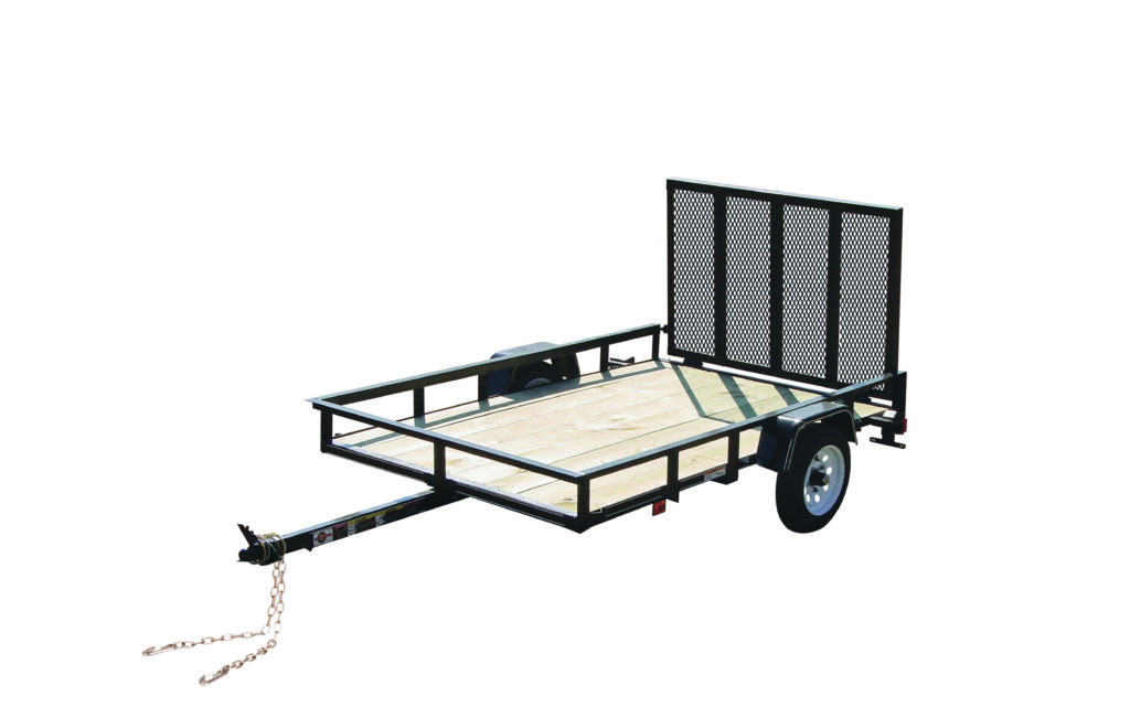 4X6GW2K LB. GVWR WOOD FLOOR TRAILERS