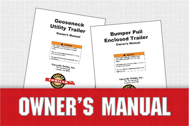 owner\u0027s manuals \u2013Carry On Trailer Wiring Diagram #17