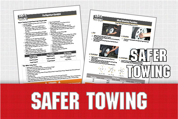 Safer Towing Information