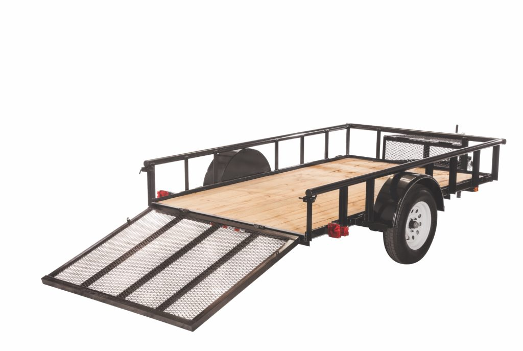 5.5X10GWPR 2990 LB. GVWR WOOD FLOOR TRAILERS